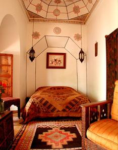 riad in de medina van marrakech, riad les yeux bleus, Meubels Ideeën