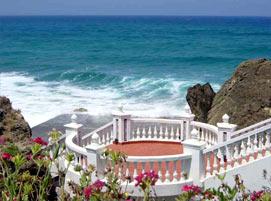 Tanger Atlantische Kust Van Marokko Hotel Le Mirage
